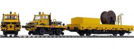 märklin 39940 Zweiwege-Unimog mit Fahrleitungsbauwagen DB AG | mfx+ Sound | Spur H0 online kaufen