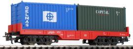 märklin 44700 Containertragwagen mit Beladung DB AG | Spur H0 online kaufen