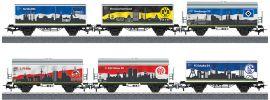 märklin 44813 Güterwagen-Set 6-tlg. Bundesliga | SET 2 | Spur H0 online kaufen