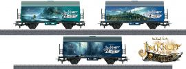 märklin 44821 Güterwagen-Set Verschiedene Länder Jim Knopf | Spur H0 online kaufen