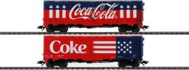 märklin 45686 2-tlg. US Kühlwagenset Coca Cola | AC | Spur H0 online kaufen