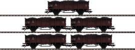 märklin 46055 Güterwagen-Set 5-tlg. Gattung P DSB | Spur H0 online kaufen