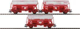 märklin 46304 Selbstentladewagen-Set 3-tlg. Tds Kalktransport DB Cargo | Spur H0 online kaufen