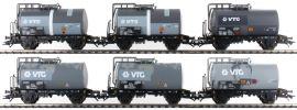 märklin 46436 Kesselwagen-Set 6-tlg. gealtert VTG | Spur H0 online kaufen