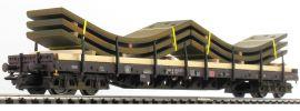 märklin 47045 Rungenwagen Rs684 | Ladung Stahlbleche | gealtert | MC-VEDES | Spur H0 online kaufen