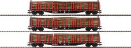 märklin 47047 Rungenwagen-Set 3-tlg. Roos 639 Holzladung DB AG   Spur H0 online kaufen