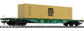 märklin 47066 Container-Tragwagen Sgnss msc STB   Spur H0 online kaufen