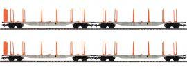 märklin 47067 KLV-Tragwagen-Set 4-tlg. Sgns 121 SJ | Spur H0 online kaufen