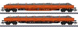 märklin 47099 Niederbordwagen-Set Schottertransport Res RTS | Spur H0 online kaufen