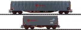 märklin 47102 Schiebeplanenwagen-Set Ermewa | Spur H0 online kaufen