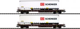 märklin 47110 Taschenwagen-Set DB Schenker Rail Cargo Austria | Spur H0 online kaufen