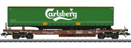 märklin 47112 Taschenwagen Sdgmns 33 Carlsberg AAE Cargo   Spur H0 online kaufen