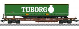 märklin 47113 Taschenwagen Sdgmns 33 Tuborg AAE Cargo   Spur H0 online kaufen