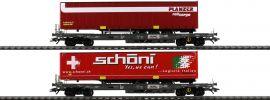 märklin 47115 Taschenwagen-Set mit Auflieger Hupac | Spur H0 online kaufen