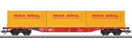 märklin 47132 Containertragwagen Sgns 691 Max Bögl DB   Spur H0 online kaufen