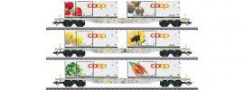 märklin 47461 Containerwagen-Set 3-tlg. Coop AAE Cargo | Spur H0 online kaufen