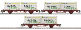 märklin 47724 Container-Tragwagen-Set 3-tlg. Lgjns Green Cargo | Spur H0 online kaufen