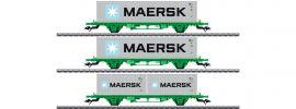 märklin 47726 Containerwagen-Set Lgns SJ   Spur H0 online kaufen