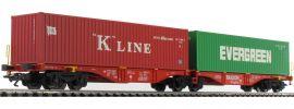 märklin 47800 Doppel-Containertragwagen Sggrss 80 Railion DB | Spur H0 online kaufen