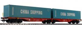 märklin 47809 Doppel-Containertragwagen Sggrss 80 DB AG   I+S   Spur H0 online kaufen