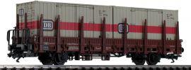 märklin 48697 Rungenwagen Kbs 443 mit 2 Containern DB | Spur H0 online kaufen