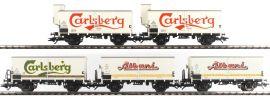 märklin 48779 Bierwagen-Set 5-tlg. DSB | Spur H0 online kaufen