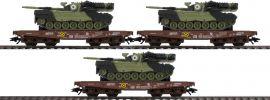 märklin 48795 Schwerlastwagen-Set Leo 1A5 Militärtransport | Spur H0 online kaufen