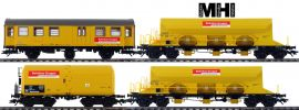 märklin 49969 Güterwagen-Set 4-tlg. DB Gleisbau | MHI | Spur H0 online kaufen