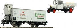 märklin 58311 Museumswagen 1997 mit LKW   Kauffmann   DRG   Spur 1 online kaufen