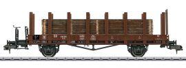 märklin 58421 Rungenwagen R10 mit Holzstämmen DB | Spur 1 online kaufen