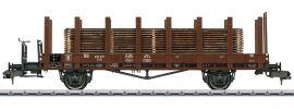 märklin 58422 Niederbordwagen R10 mit Holzstämmen DB | Spur 1 online kaufen