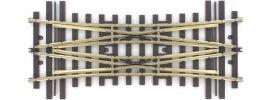 märklin 59093 Doppelte Kreuzungsweiche 15° | Mittelteil | Radius 1394 mm | H1101 | Spur 1 online kaufen