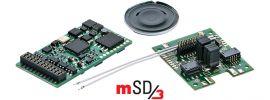 märklin 60979 mSD3 Sound-Decoder | 21-pol. | TRAXX E-Lok-Sound | fx | mfx | DCC online kaufen