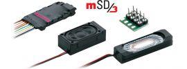 märklin 60985 mSD3 Sound-Decoder | 8-pol. | Dampflok-Sound | fx | mfx | DCC online kaufen