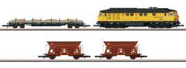 märklin 81451 Bauzug Diesellok BR 233 mit 3 Güterwagen DB Bahnbau | Spur Z online kaufen