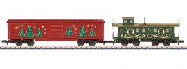 märklin 82302 Ergänzungswagen-Set Weihnachten | Spur Z online kaufen