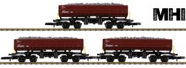 märklin 82436 Wagen-Set Seitenkippwagen DB AG | MHI | Spur Z online kaufen