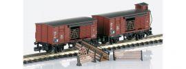 märklin 86602 2-tlg. Güterwagen-Set Viehtransport DB | Spur Z online kaufen