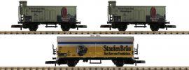märklin 86603 Güterwagen-Set 3-tlg. Staufen-Bräu DB | Spur Z online kaufen