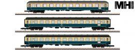 märklin 87211 Personenwagen-Set Abteilwagen 2.Kl. DB | MHI | Spur Z online kaufen