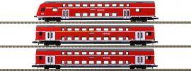 märklin 87297 Doppelstockwagen-Set Höllentalbahn DB | Spur Z online kaufen