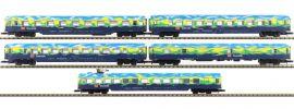 märklin 87303 Personenwagen-Set 5-tlg.Touristik DB AG | Spur Z online kaufen