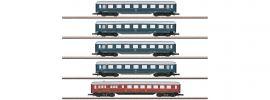 märklin 87357 Schnellzugwagen-Set 1./2. Kl. DB | Spur Z online kaufen