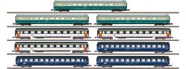 märklin 87408 Reisezugwagen-Set 9-tlg. DB | MHI | Spur Z online kaufen
