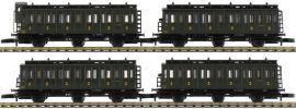 märklin 87502 Abteilwagen-Set 4-tlg. SNCF | Spur Z online kaufen