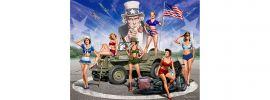 MasterBox 35183 US Damen Figuren Set | Militär Bausatz 1:35 online kaufen