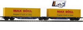 MEHANO 58958 Containertragwagen Sggmrss 90 Max Bögl ERR | DC | Spur H0 online kaufen