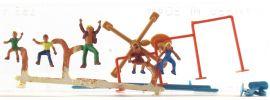 MERTEN 2455 Spielende Kinder mit Gerätspielplatz Figuren Spur H0 online kaufen