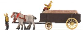 MERTEN H02470 Bauernkastenwagen mit Pferden Spur H0 online kaufen