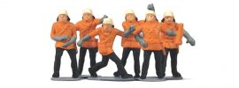 MERTEN 5011 Feuerwehrleute | 6 Miniaturfiguren | Spur H0 online kaufen